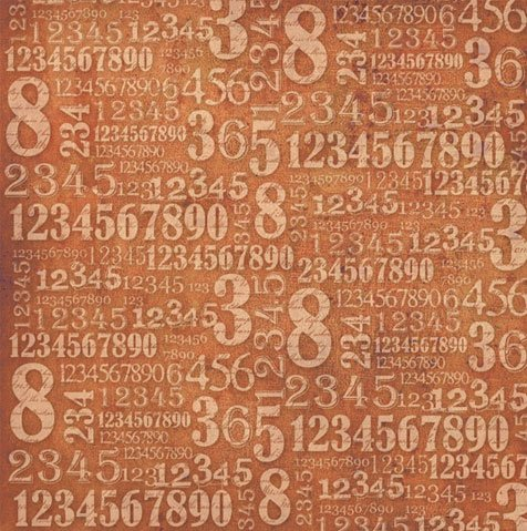 Rice Paper - Numbers