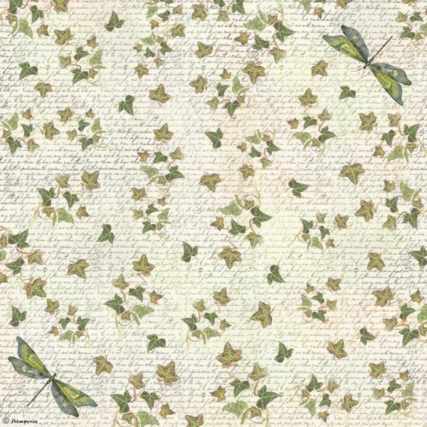 Rice Paper - Ivy Dragonfly