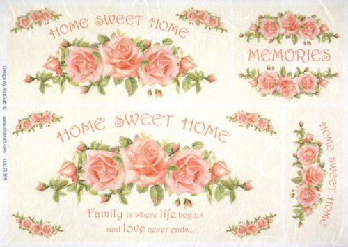 Rice Paper - Home sweet home memories