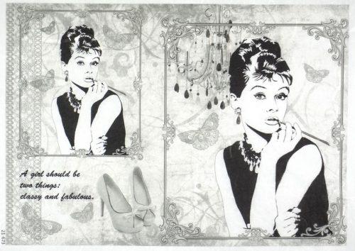 Rice Paper - Audrey Hepburn Large