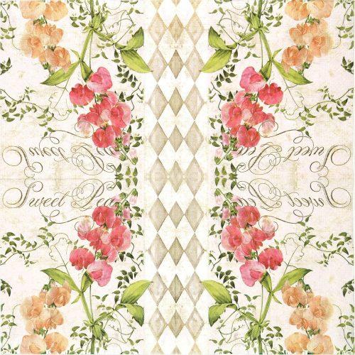 Paper Napkin - Romantic Flower