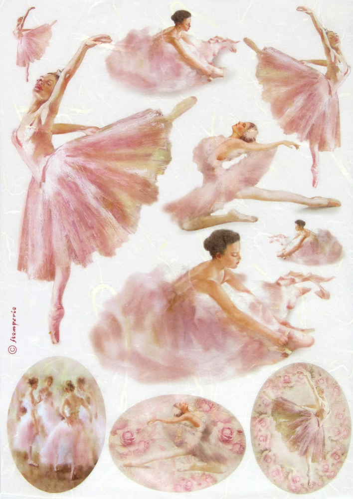 Rice Paper - Dancers in frames