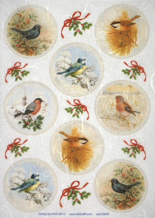 Rice Paper - Bird Collection