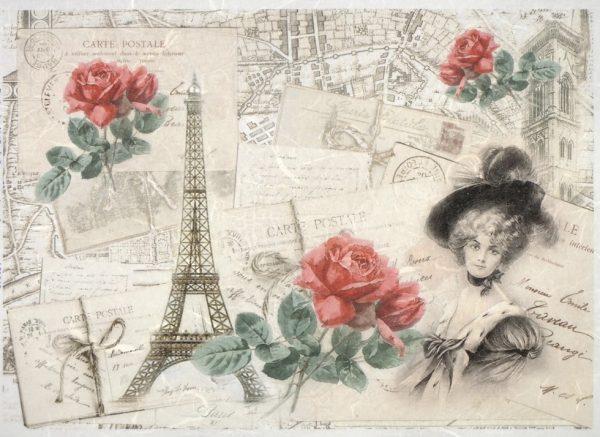 Rice Paper - Paris & Love