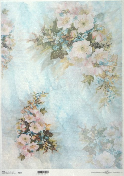 Rice Paper A/3 - Big Bouquet of Flowers