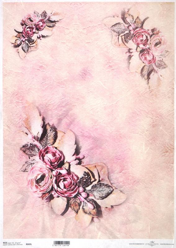 Rice Paper - Light Pink Wallpaper