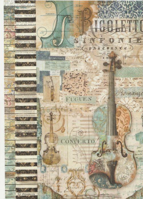 Rice Paper - Violin