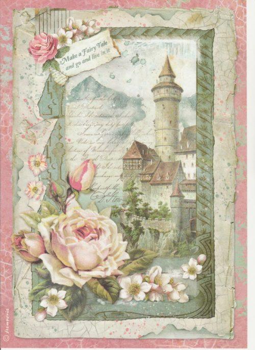 Rice Paper - Castle Fantasy