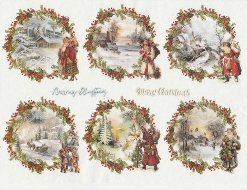 Rice Paper A/3 - Christmas  packets 2