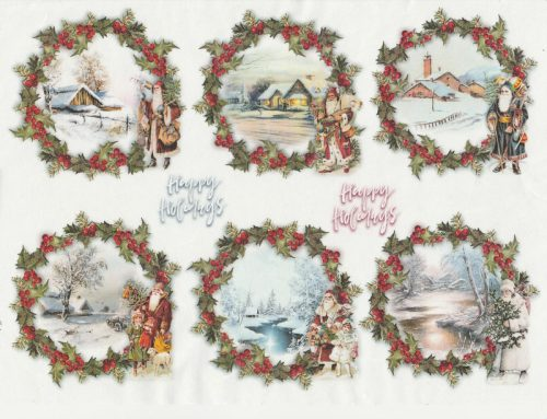 Rice Paper - Christmas  packets 3
