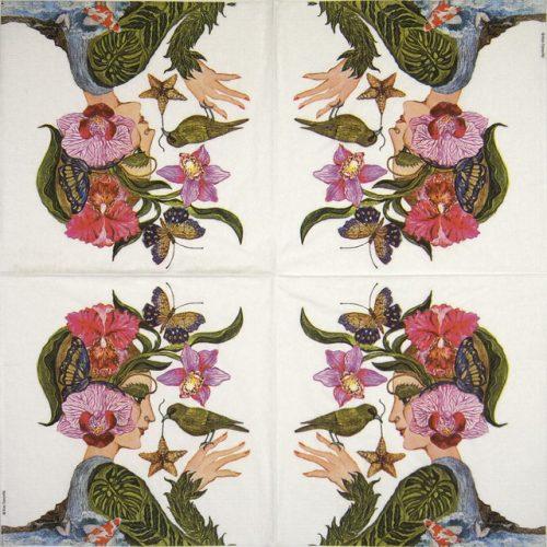 Paper Napkin - Ron Tanovitc: La Flora