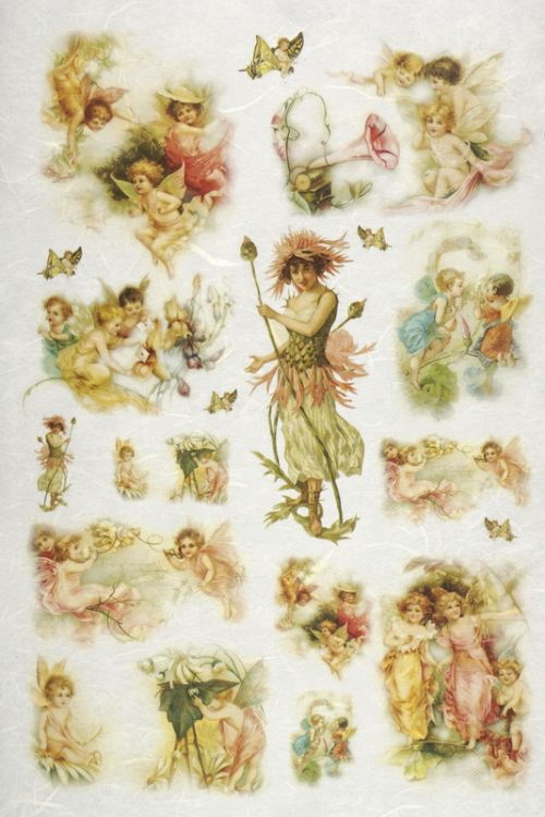 Rice Paper - Angels and fairy