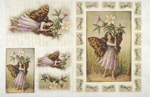 Rice Paper - Wind-Flower Fairy