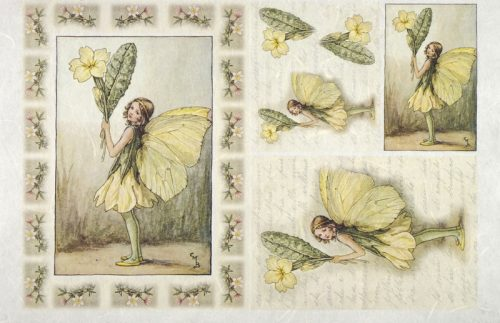 Rice Paper - The Primrose Fairy
