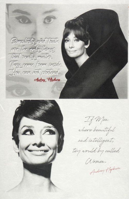 Rice Paper - Audrey Hepburn