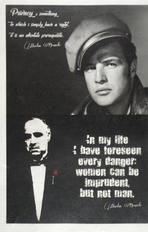 Rice Paper - Marlon Brando