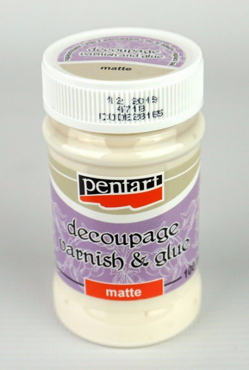 Decoupage varnish and glue, Matte 100ml