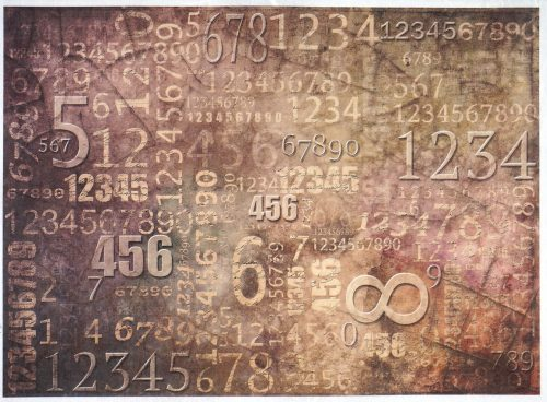 Rice Paper - Vintage Numbers