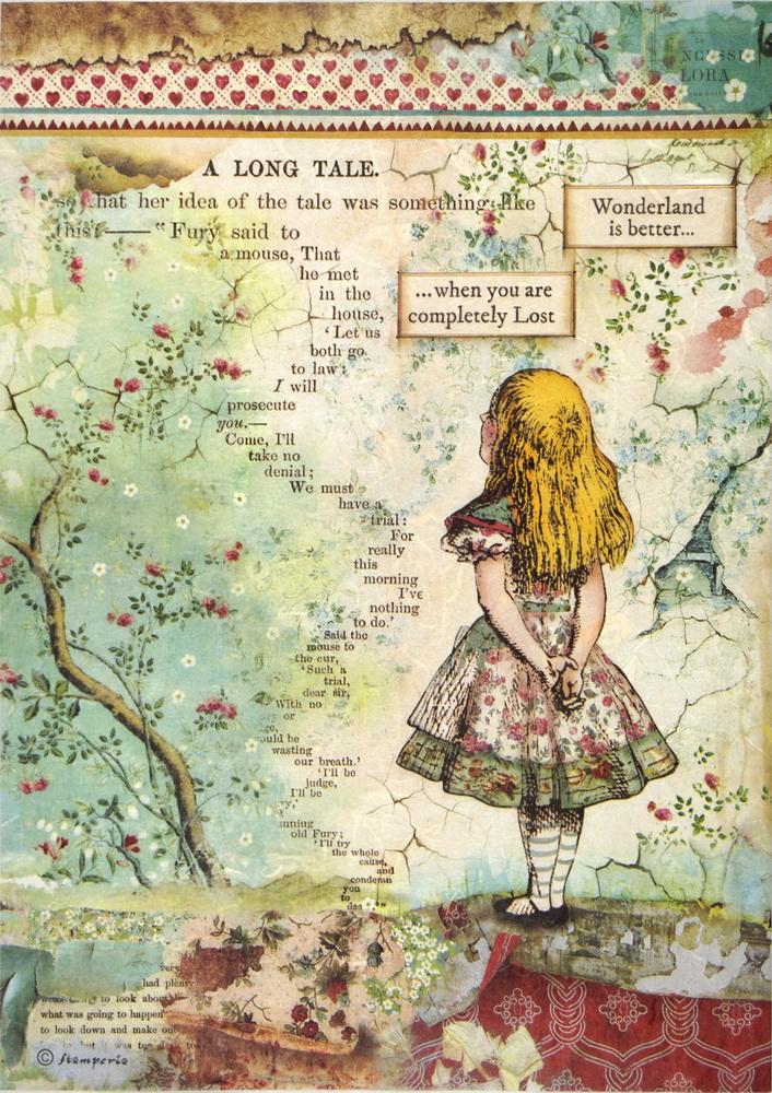 Rice Paper - Alice
