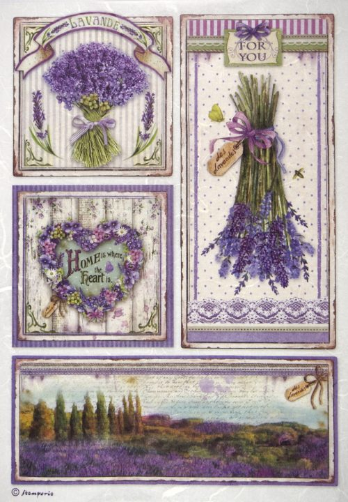Rice Paper - Provence Frames