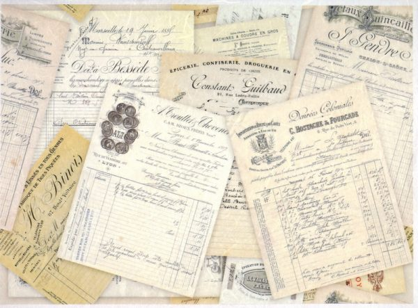 Rice Paper - Vintage Old Documents