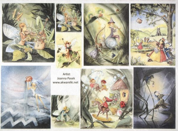 Rice Paper - Fairy tale 2