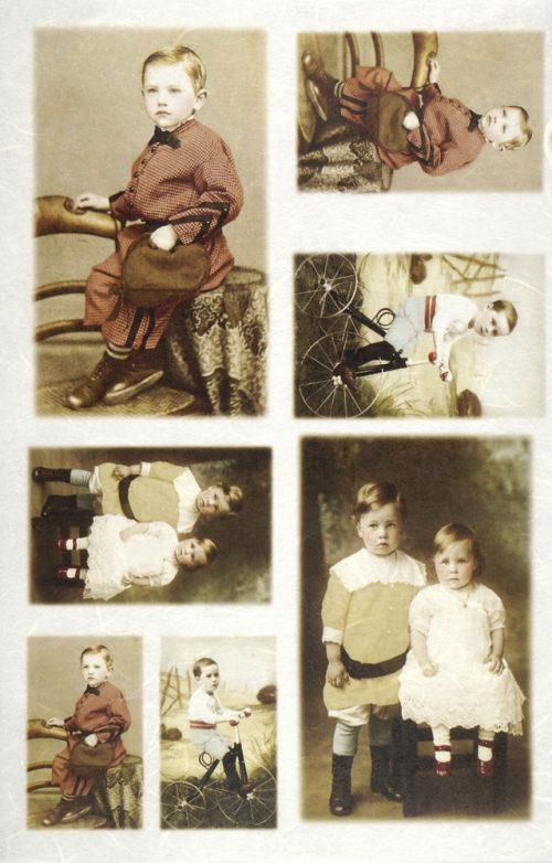 Rice Paper - Little prince & princess