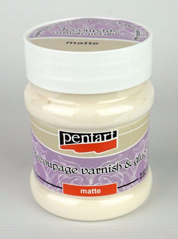 Decoupage varnish and glue, Matte 230ml