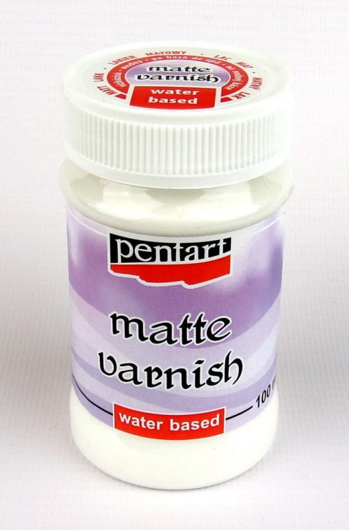 Pentart Water Based Matte Varnish 100ml