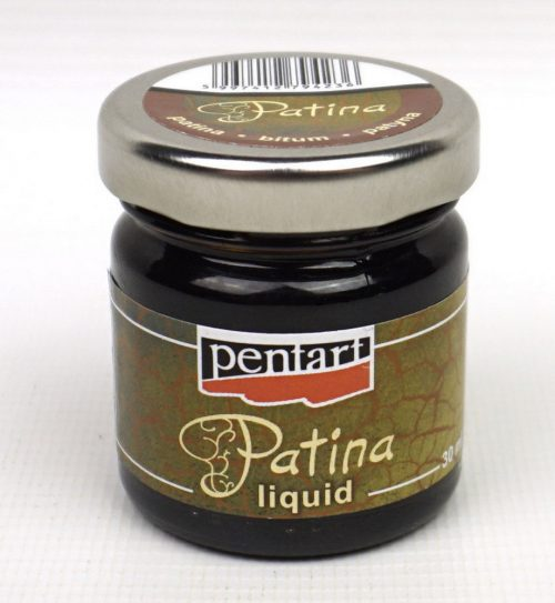 Pentart Liquid Patina 30ml Bitumen for Antiquing