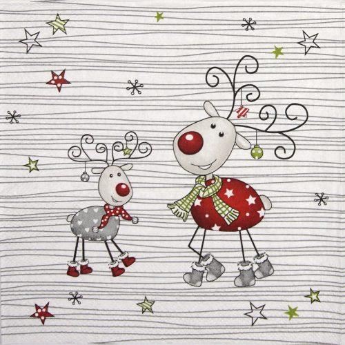 Paper Napkin - Gustaf Deer Family