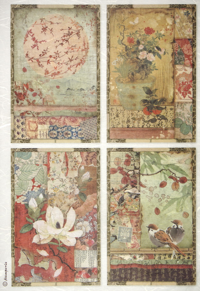 Rice Paper for DecoupageWashi Paper for Decoupage