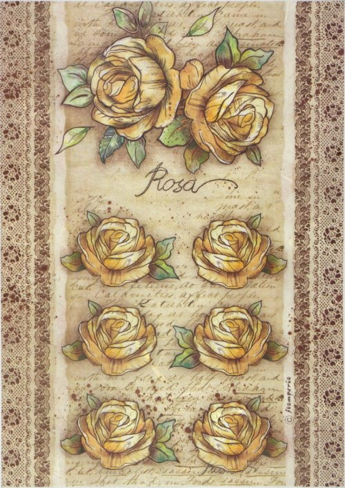 Rice Paper -  Rose
