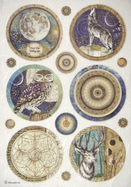 Rice Paper - Cosmos Sphere