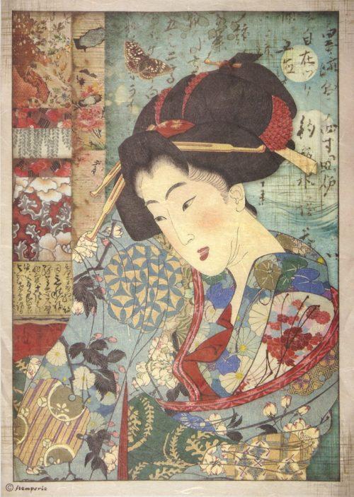 Rice Paper - Geisha