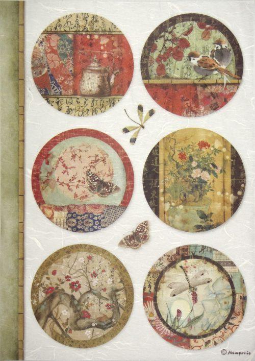 Rice Paper - Oriental Spheres