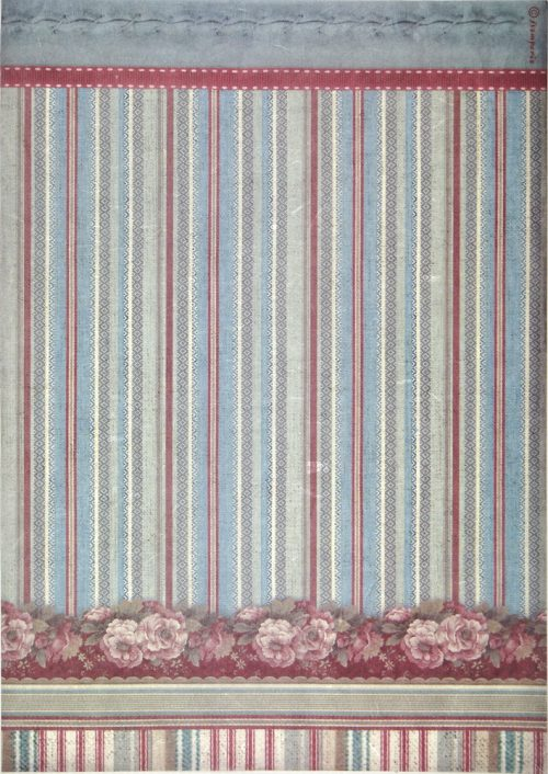 Rice Paper - Striped Wallpaper