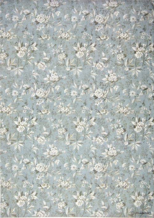 Rice Paper - Jasmine Light Blue