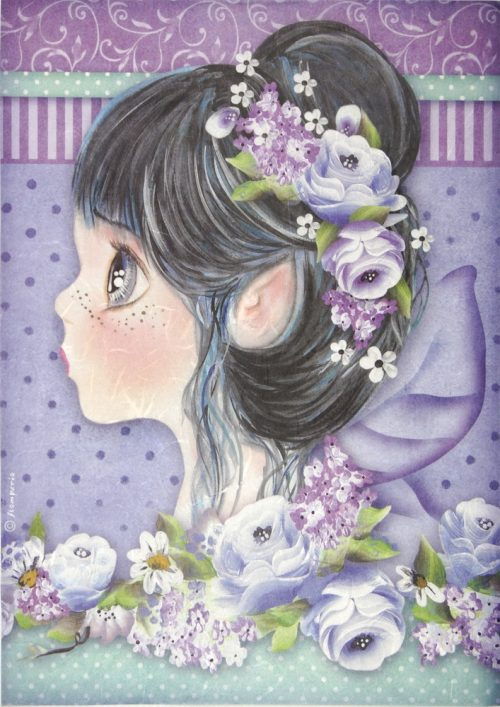 Rice Paper - Lilac Fairy
