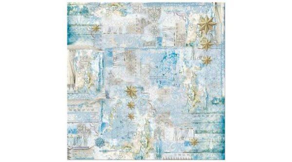 Rice Paper - Blue Stars Little Stars