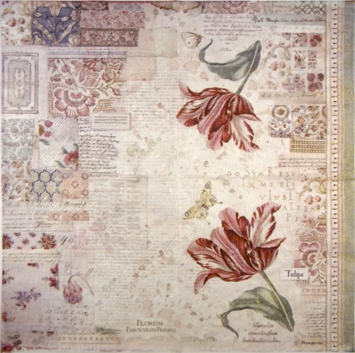 Rice Paper - Botanic Tulip