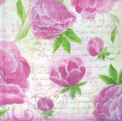 Rice Paper - Pink Roses