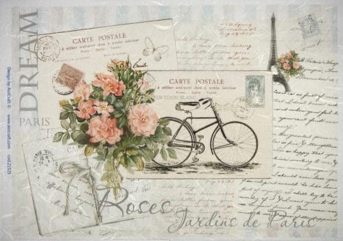 Rice Paper - Bike Cards