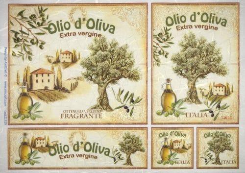 Rice Paper - Olio d'Oliva