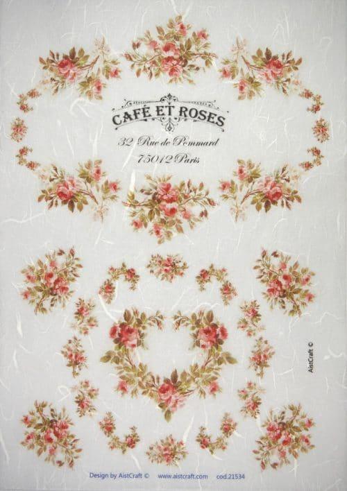 Rice Paper - Café et Roses