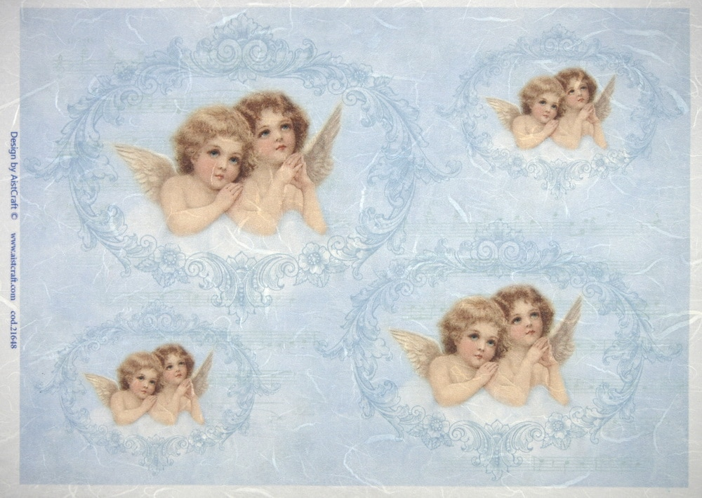 Rice Paper - Angels Blue