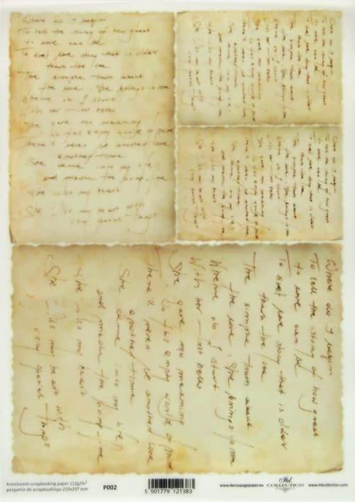Translucent/Vellum Paper - Letter