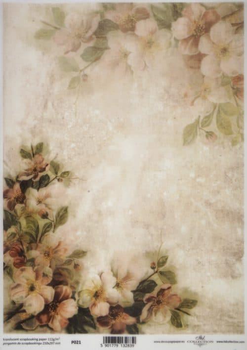 Translucent/Vellum Paper - Blossom