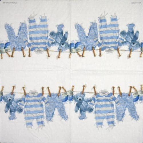 Lunch Napkins (20) - Baby Boy Clothes