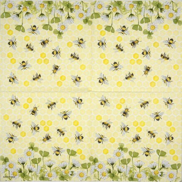 Paper Napkin - Bees joy